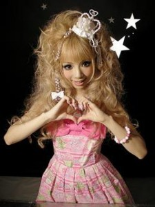 Princesse japonaise kawaii