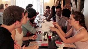 Partagez un repas avec des inconnus