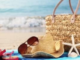 Le contenu du sac de plage
