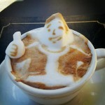 Le 3D Latte Art par Kazuki Yamamoyo