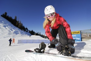 sports extremes filles snowboard