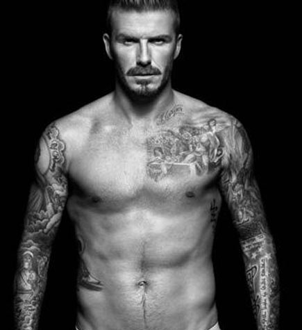 tatouage David Beckham