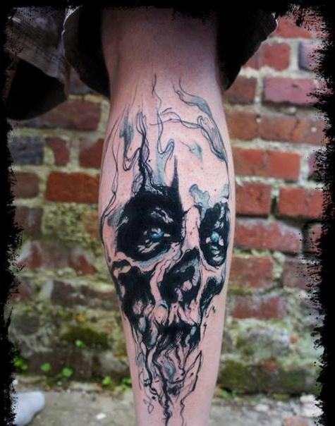 mikki bold tatoo