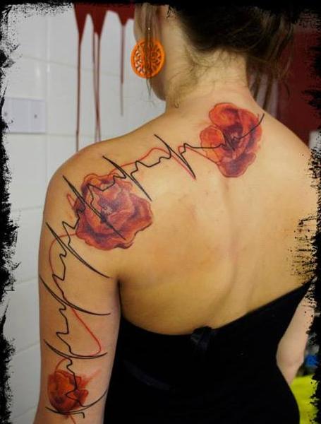 mikki bold tatouage
