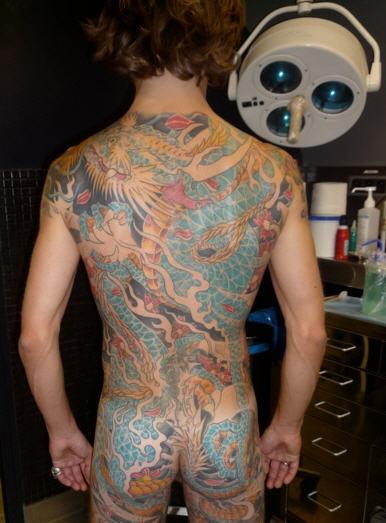 tatouage abraxas