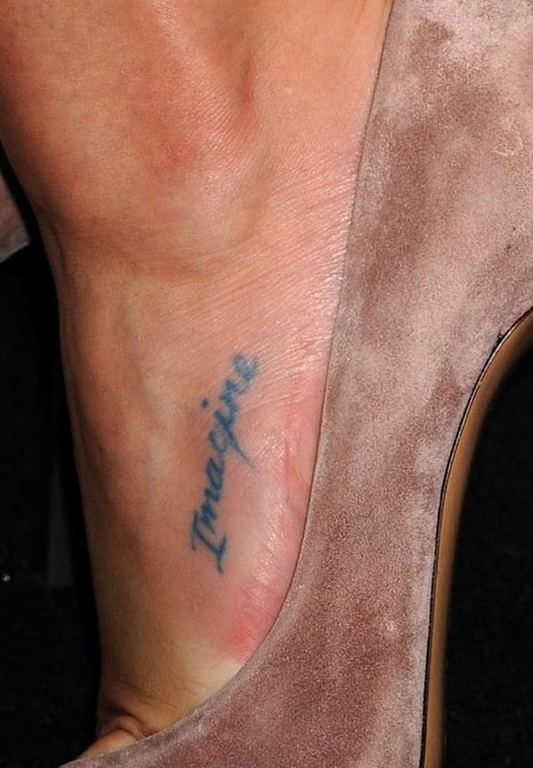 tatouage lea michele