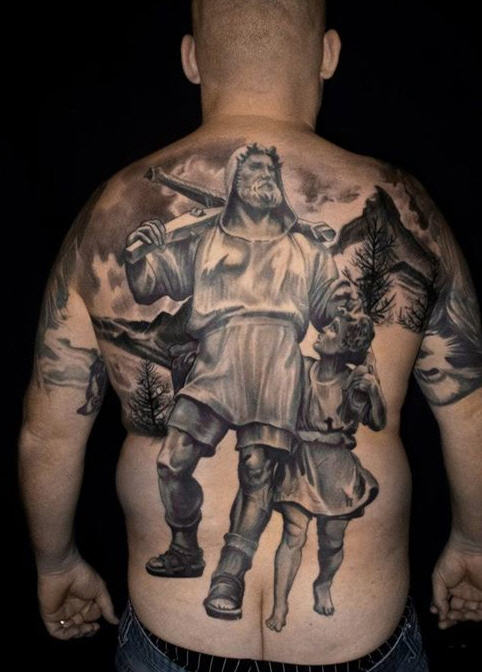 tatouage tin-tin