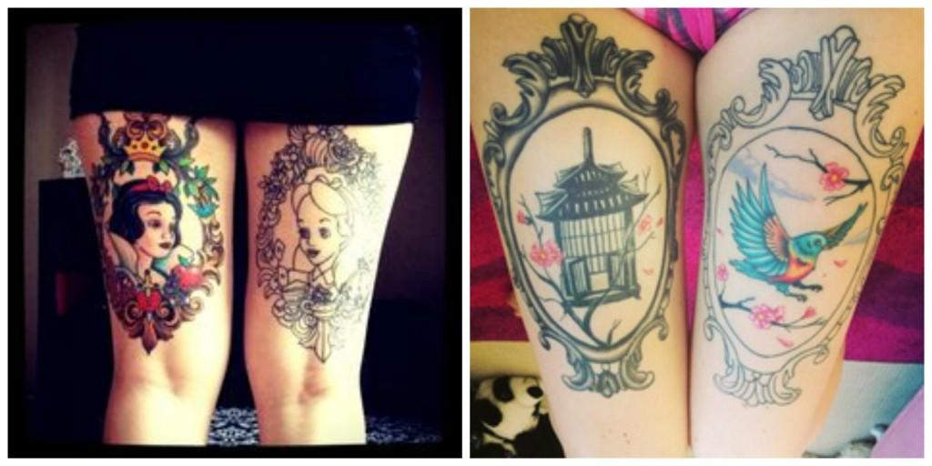 cuisse tatouage