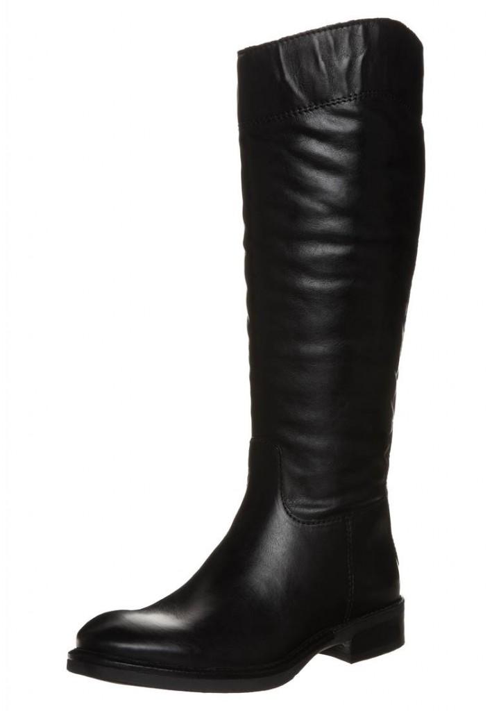 Bottes en cuir noir Tamaris soldées 75€ sur Zalando
