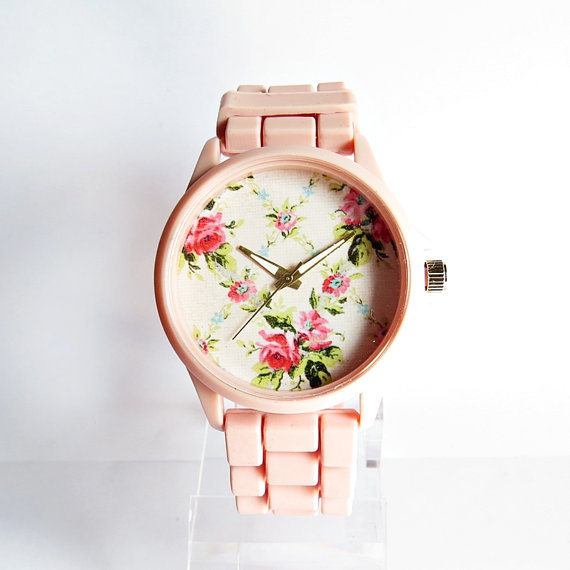 Rose Spring Floral Watch, Montres femme