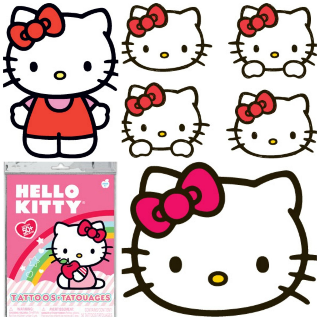 tatouage temporaire hello kitty