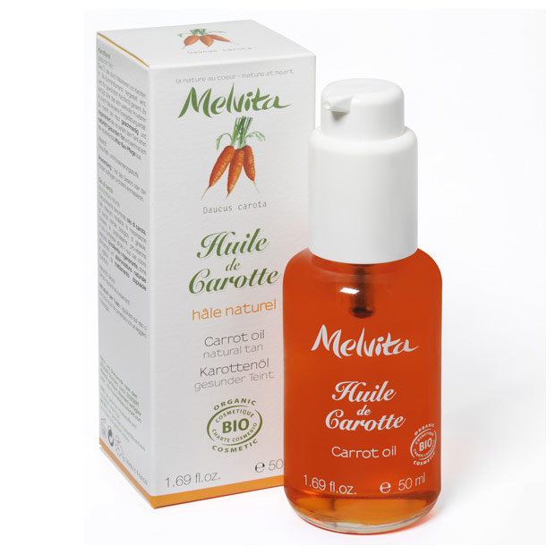huile de carotte melvita