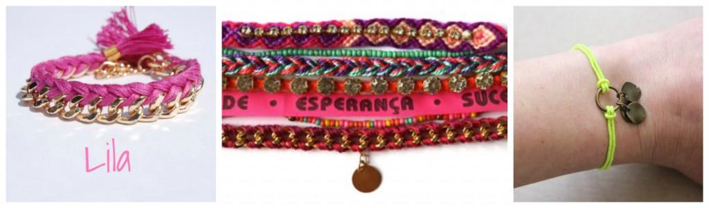 look plage bracelet