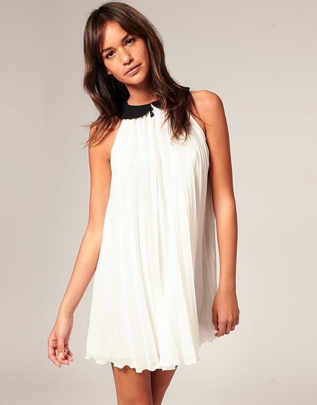 robe col claudine soirée