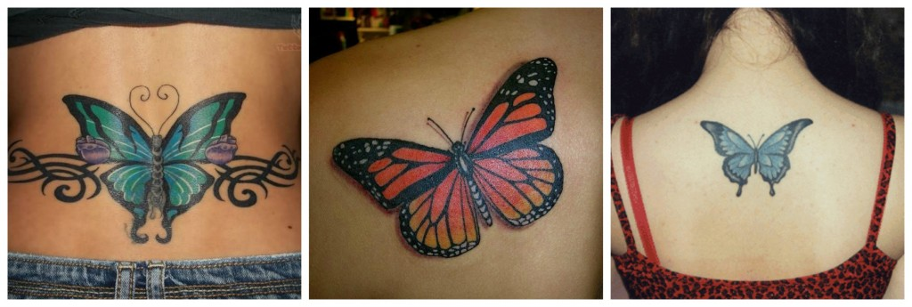 tatouage papillon statique