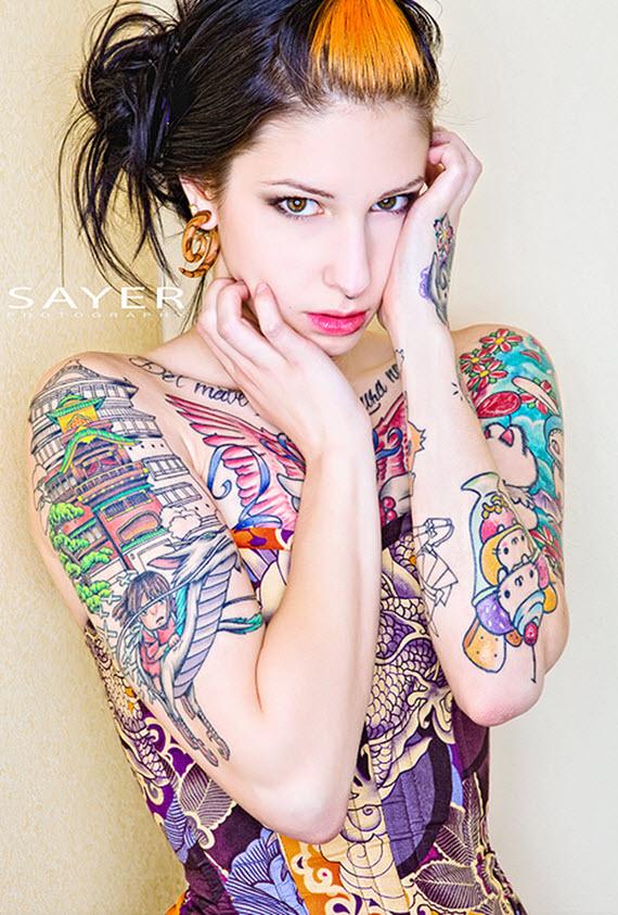 Tatouage Bras Femme