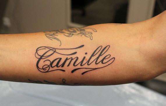 tatouage prénom homme