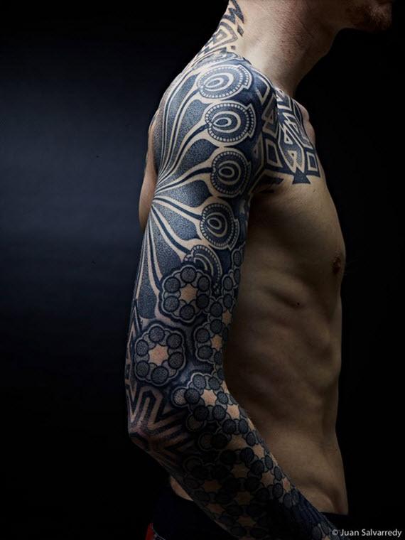 tatouage épaule homme
