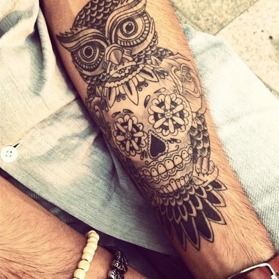 tatouage homme mexicain
