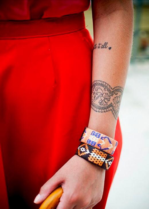 manchette bracelet femme