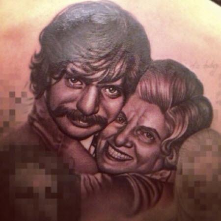tatouage drake visage