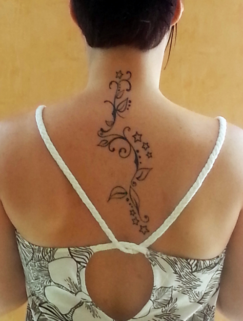 tatouage arabesque - mademoiselle web