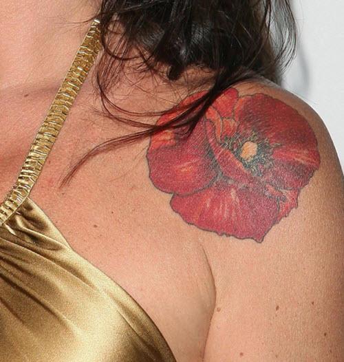 le tatouage coquelicot