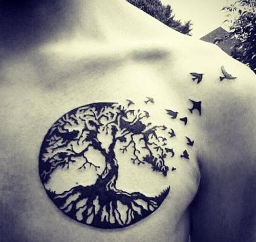 tatouage-arbre-torse