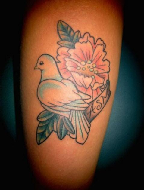 tatouage-colombe-couleur