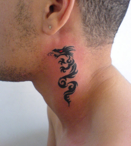 tatouage-cou-dragon