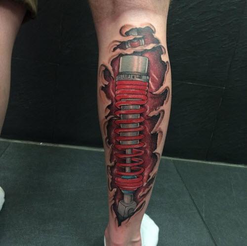 tatouage-mollet-couleur