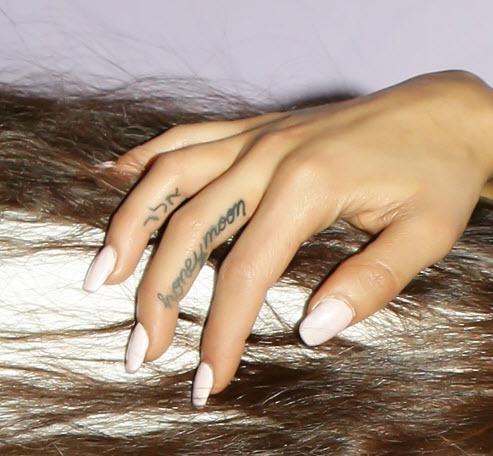 Les Tatouages D Ariana Grande